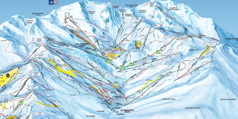 Piste Map ESF Val Thorens